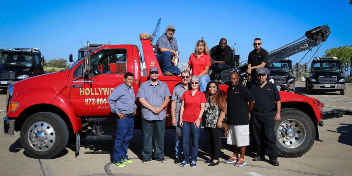 Hollywood Towing is a Certified Women's Business Enterprise