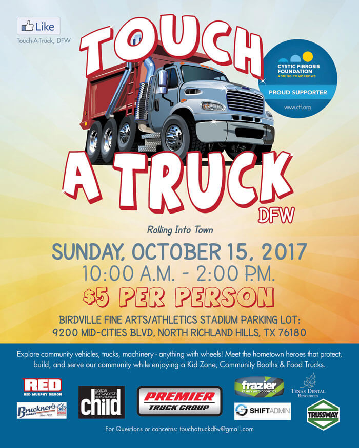 Hollywood Towing Supports Touch-A-Truck for Cystic Fibrosis Foundation